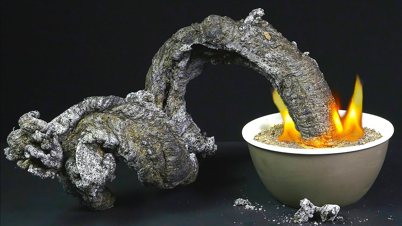 Black Fire Snake – Amazing Science Experiment – Chemistry ...